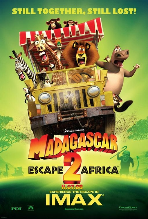 Poster per Madagascar: Escape 2 Africa - Imax version