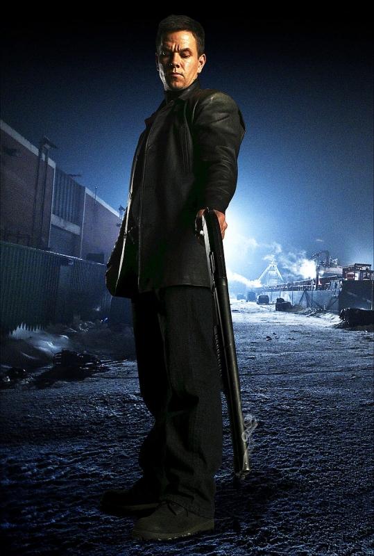 Mark Wahlberg in una scena del film Max Payne