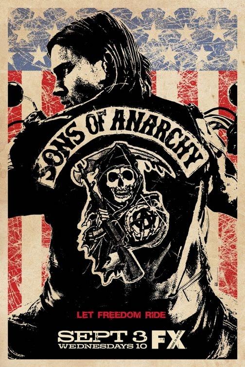 La locandina di Sons of Anarchy