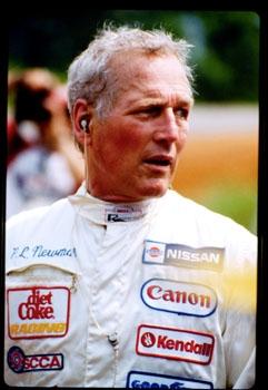 Paul Newman, grande appassionato di corse automobilistiche