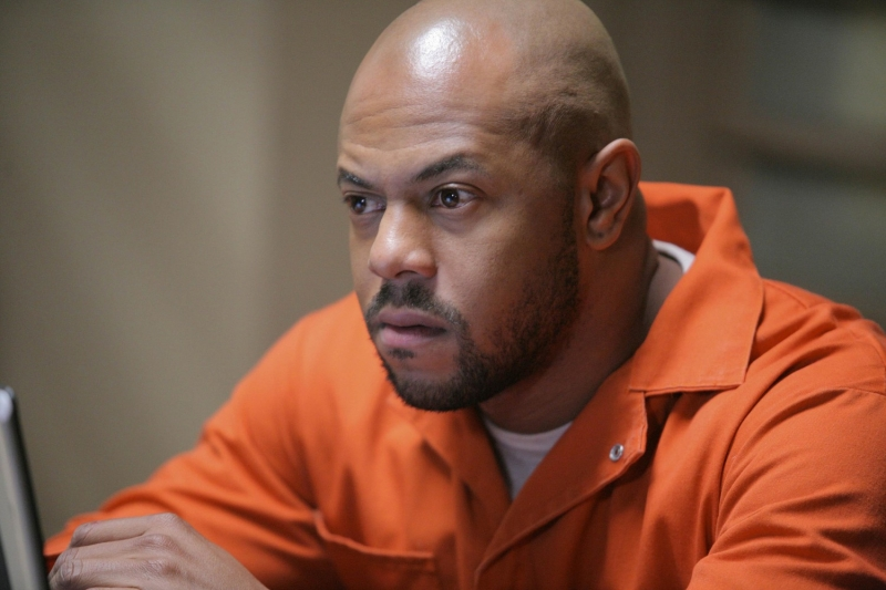 Rockmond Dunbar interpreta Benjamin Miles 'C-Note' Franklin nella serie tv Prison Break, episodio: La prova