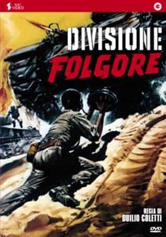 La copertina di Divisione folgore (dvd)