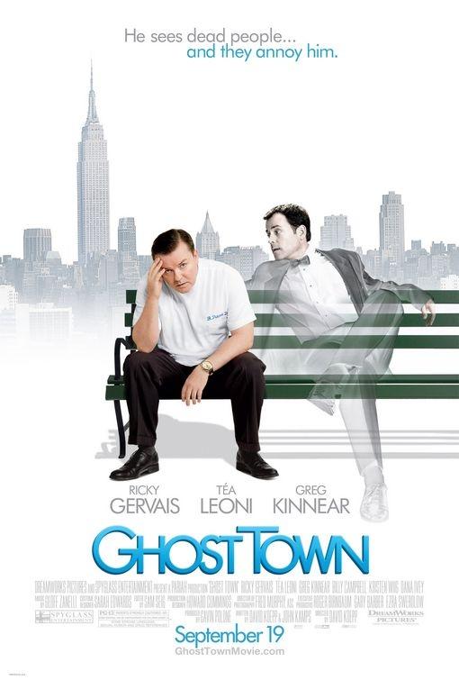 La locandina di Ghost Town