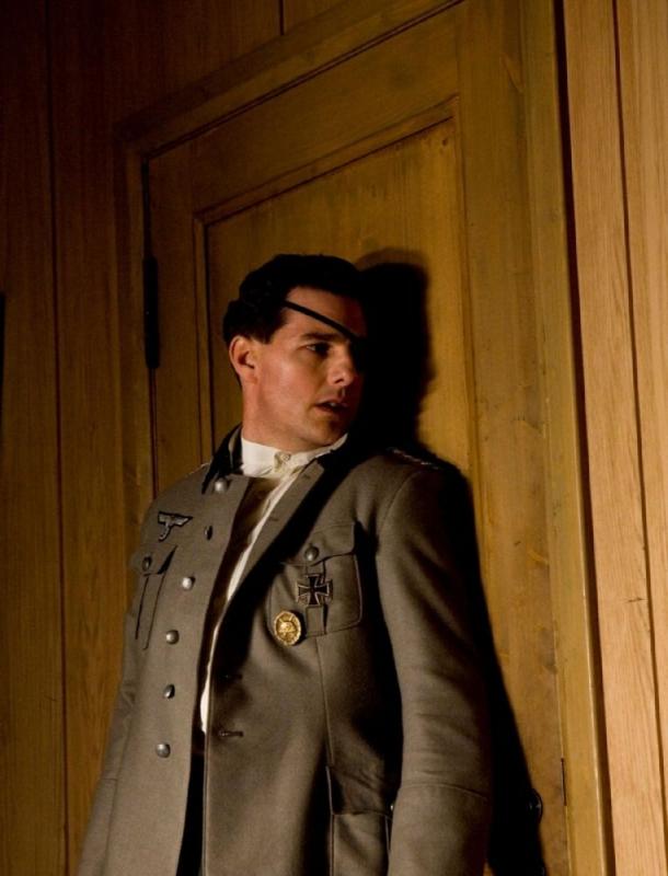 Tom Cruise in una sequenza del film Valkyrie