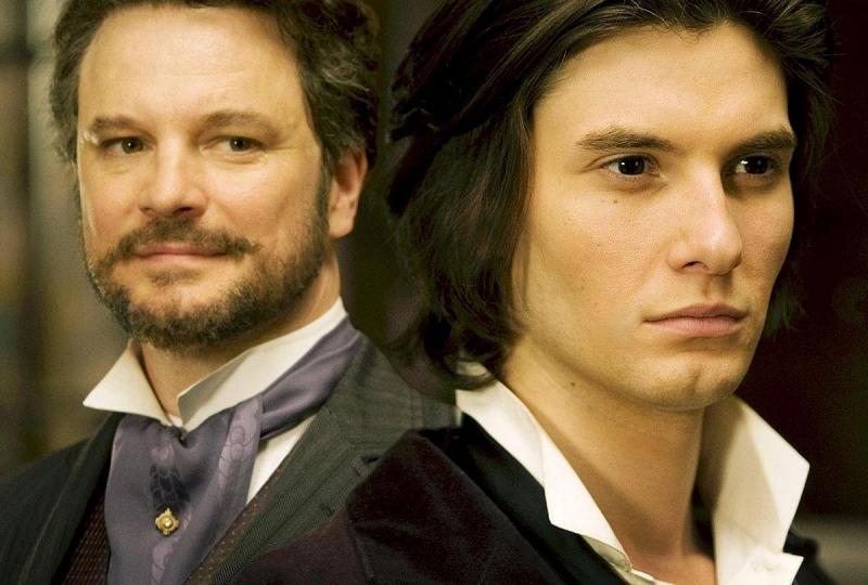 Colin Firth e Ben Barnes in una scena del film Dorian Gray