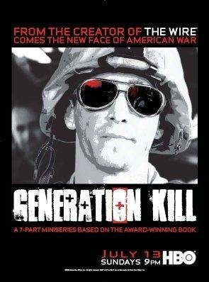 La locandina di Generation Kill