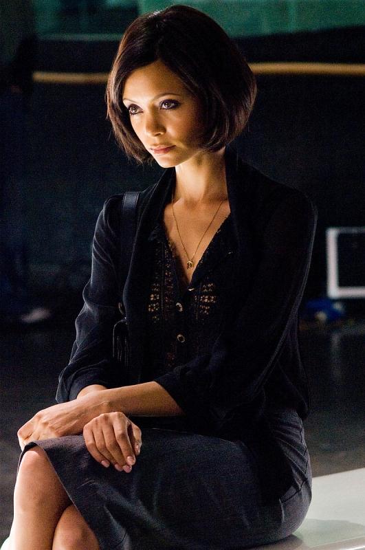 Thandie Newton in una scena del film RocknRolla