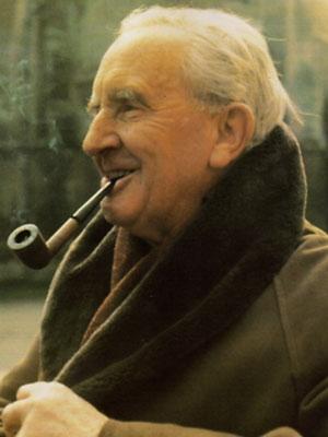 Una foto di J.R.R. Tolkien