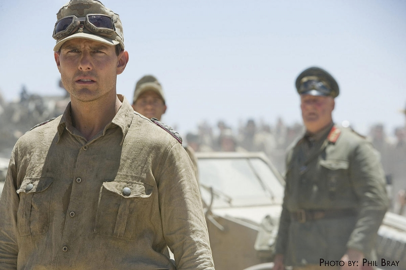 Tom Cruise in un'immagine di Valkyrie