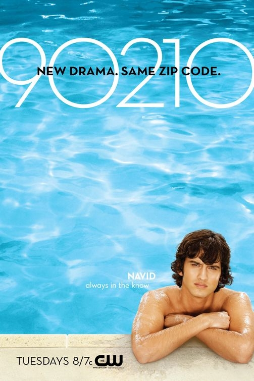 Character poster per la serie TV 90210: Navid