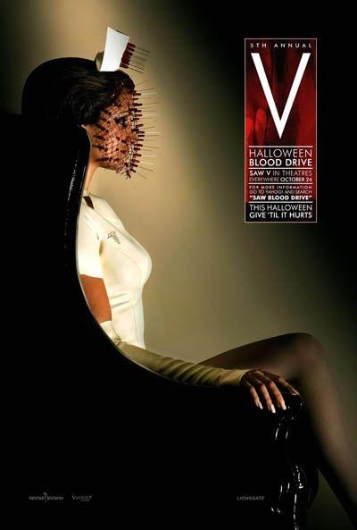 Nuovo poster promozionale per Saw V - Halloween Blood Drive