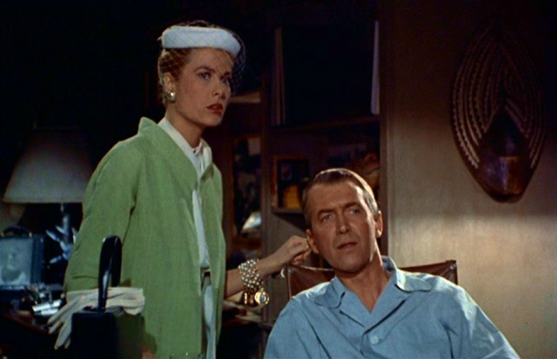 Grace kelly e james stewart in una scena di la finestra sul cortile 86224 - La finestra sul cortile film ...