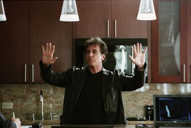 Al Pacino in una sequenza del film Sfida senza regole - Righteous Kill