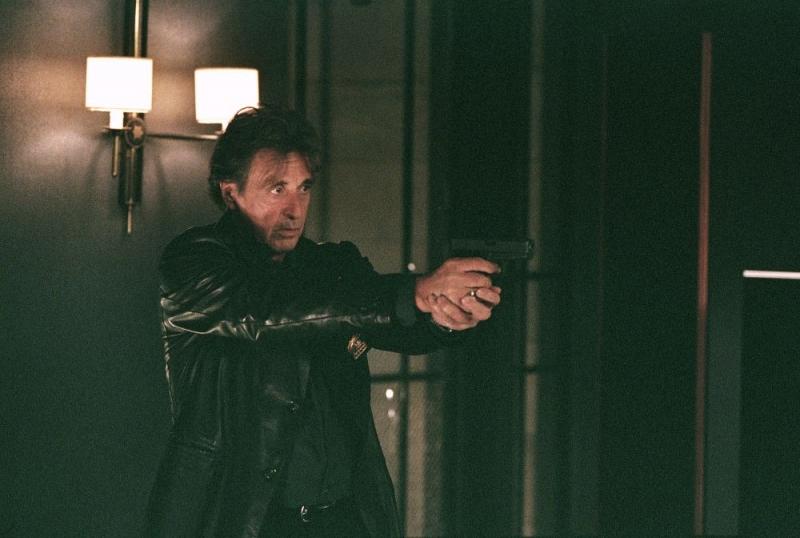 Al Pacino in una sequenza di Sfida senza regole - Righteous Kill