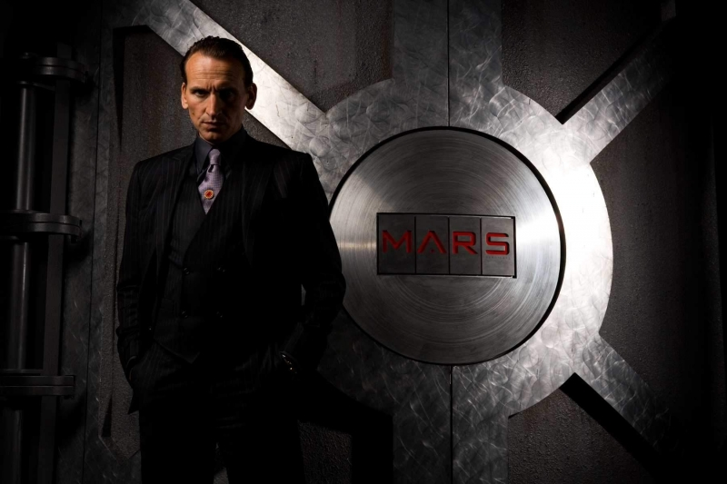 Christopher Eccleston in una foto promozionale del film G.I. Joe: Rise of Cobra