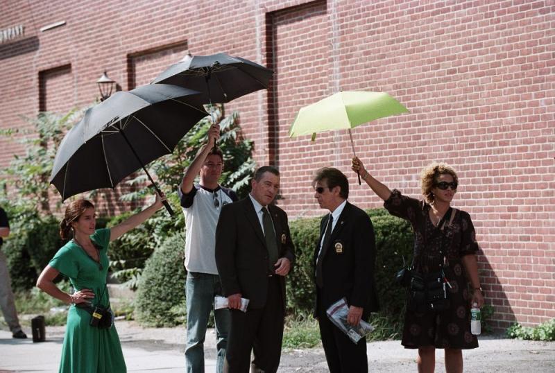 Robert De Niro e Al Pacino sul set del film Sfida senza regole - Righteous Kill