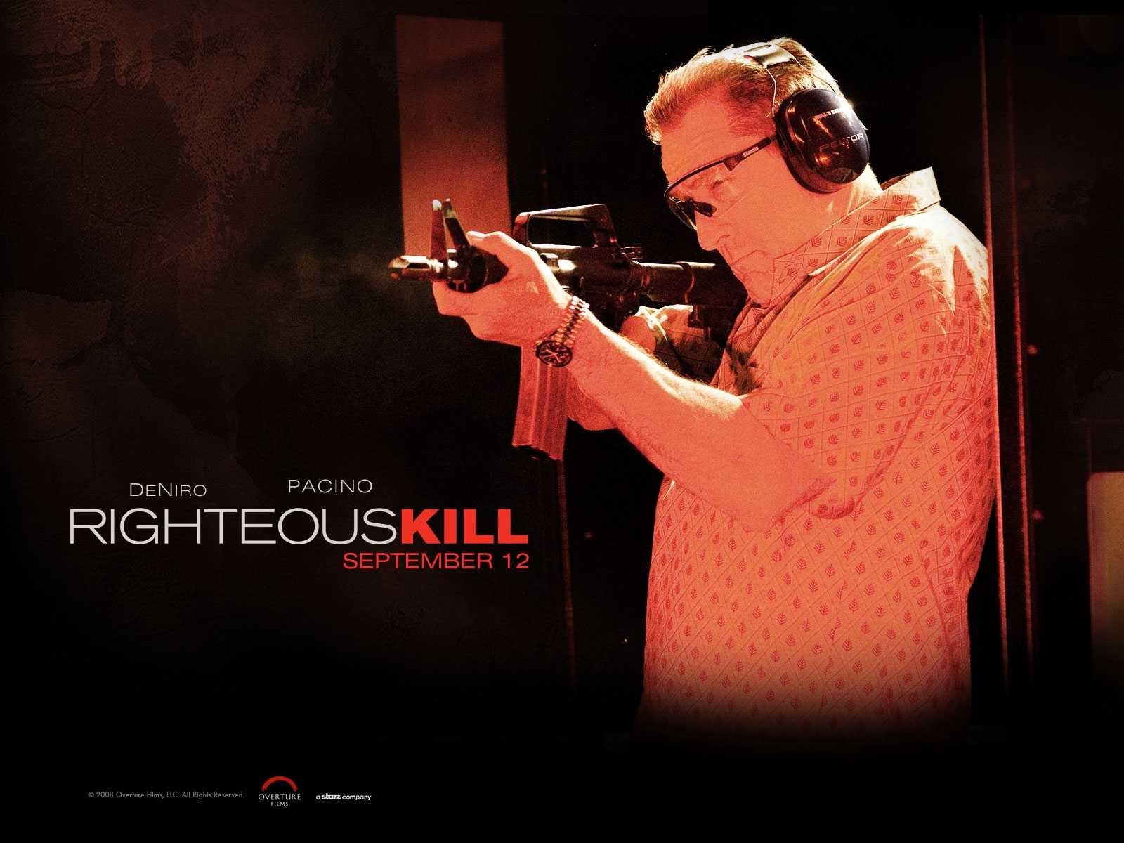 Un wallpaper del film Sfida senza regole - Righteous Kill