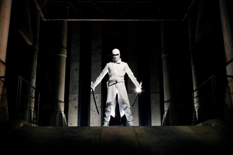 Una bella immagine di Lee Byung-hun nell'action movie G.I. Joe: Rise of Cobra.