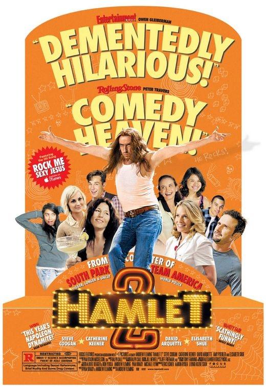 Il nuovo folle poster di Hamlet 2