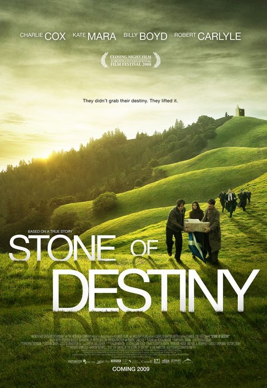 La locandina di Stone of Destiny