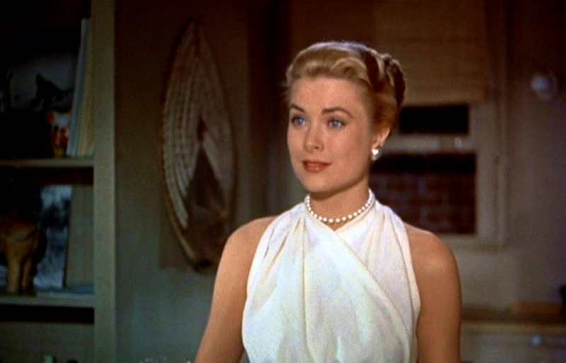 La spledida grace kelly in una scena di la finestra sul cortile 86511 - La finestra sul cortile remake ...