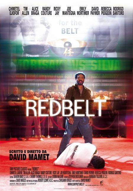 La locandina italiana di Redbelt