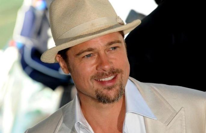 Brad Pitt presenta Burn After Reading - A prova di spia, alla 65esima edizione della Mostra del Cinema di Venezia