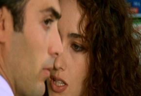 Un'immagine di Sergio Sivori in scena
