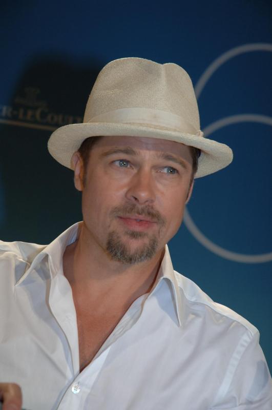 Brad Pitt alla 65esima Mostra del Cinema presenta Burn After Reading - A prova di spia,