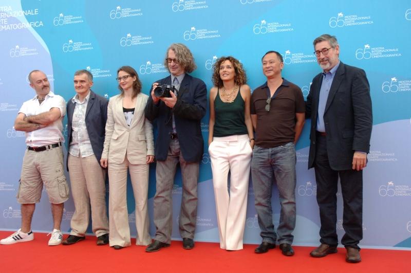 Mostra del Cinema 2008: la giuria formata da Wim Wenders, Juriy Arabov, Valeria Golino, Douglas Gordon, John Landis e Lucrecia Martel