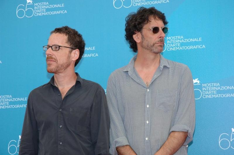 Venezia 2008: I registi di 'Burn After Reading', Joel ed Ethan Coen