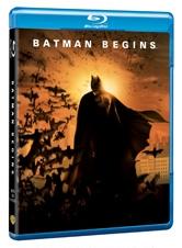 La copertina di Batman Begins (blu-ray)