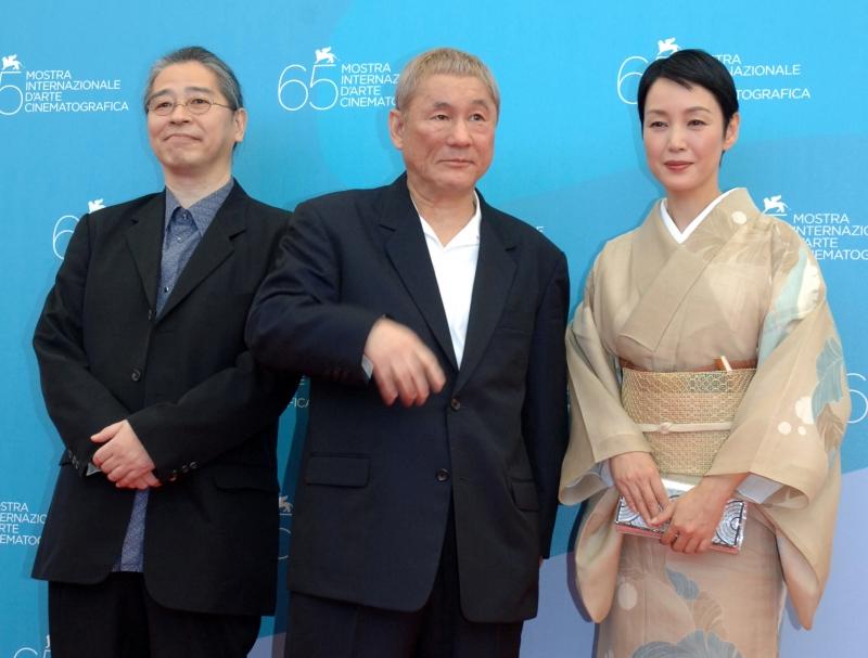 Venezia, 65esima Mostra del Cinema: Takeshi Kitano presenta il suo Achilles and the Tortoise