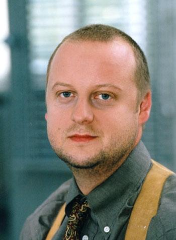 Martin Weinek in un'immagine del serial Il Commissario Rex