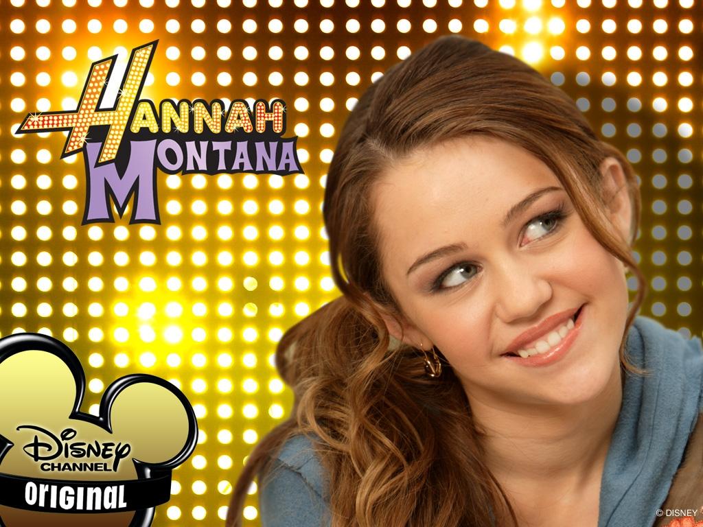 Milay Cyrus in un wallpaper di Hannah Montana