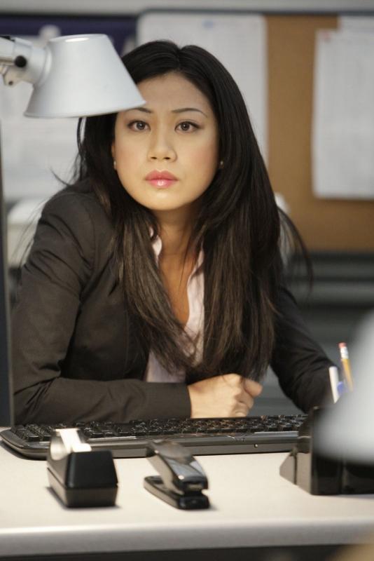 Liza Lapira è l'Agente speciale Michelle Lee nell'episodio 'Last man standing' della serie tv NCIS