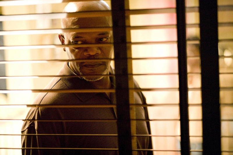 Samuel L. Jackson interpreta Abel Turner nel film La terrazza sul ...