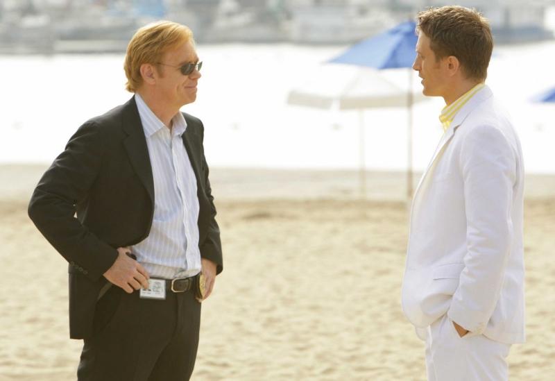 David Caruso nell'episodio 'Wo't Get Fueled Again' della serie CSI Miami
