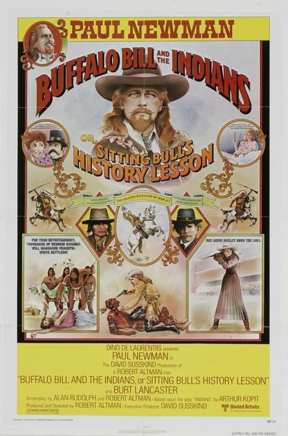 La locandina di Buffalo Bill e gli Indiani