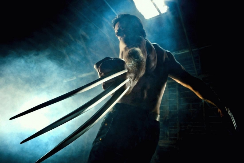 Hugh Jackman in una scena del film X-Men Origins: Wolverine  (2009)