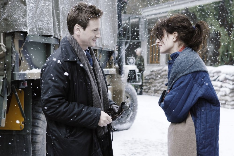 Benoit Magimel e Karolina Gruszka in un'immagine del film Resolution 819