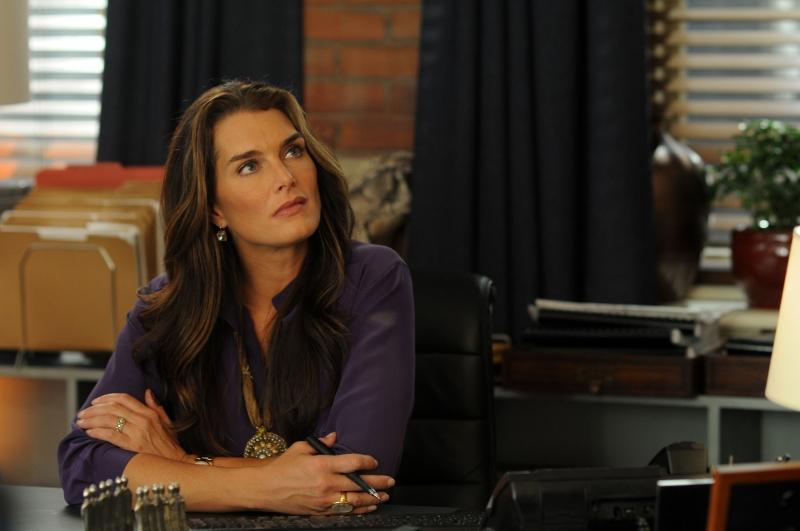 Brooke Shields nell'episodio 'Chapter ten: Let it be' della serie Lipstick Jungle