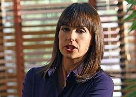 Constance Zimmer in una scena dell'episodio 'Gotta Look Up To Get Down ' della quinta stagione di Entourage