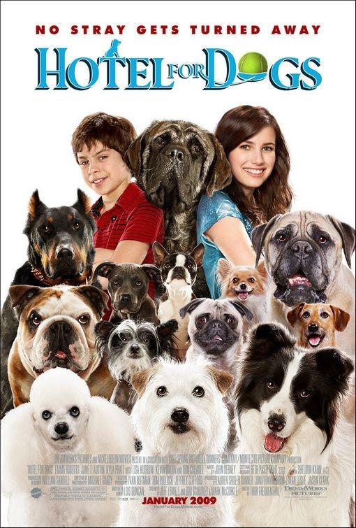Poster per il film Hotel for Dogs
