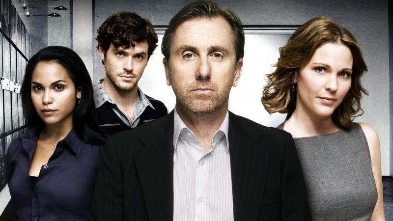 Il cast di Lie to Me in una foto promozionale della serie