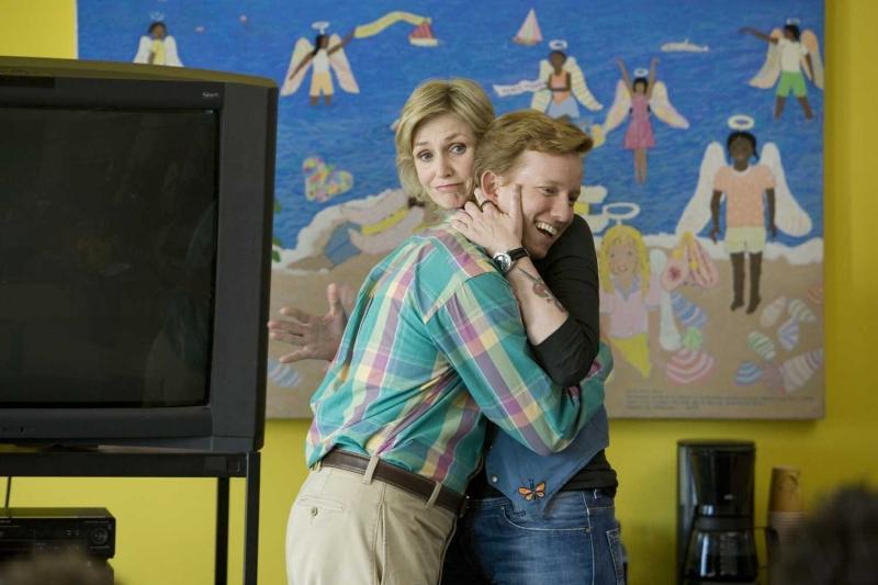 Jane Lynch e A.D. Miles in una scena del film Role Models