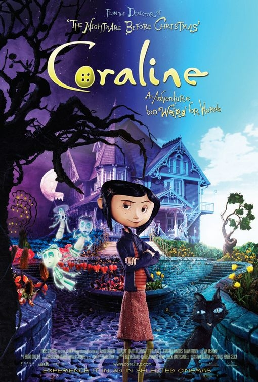 Nuovo poster per il film d'animazione Coraline
