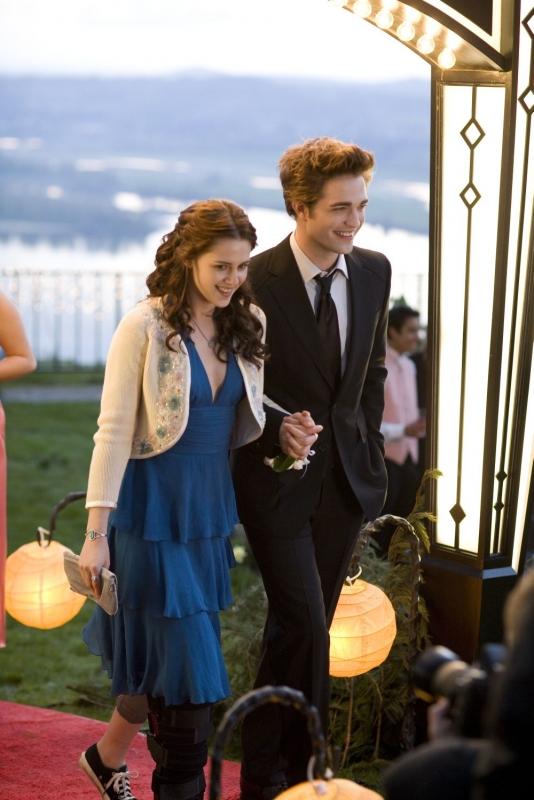 Kristen Stewart e Robert Pattinson sono i protagonisti del film Twilight
