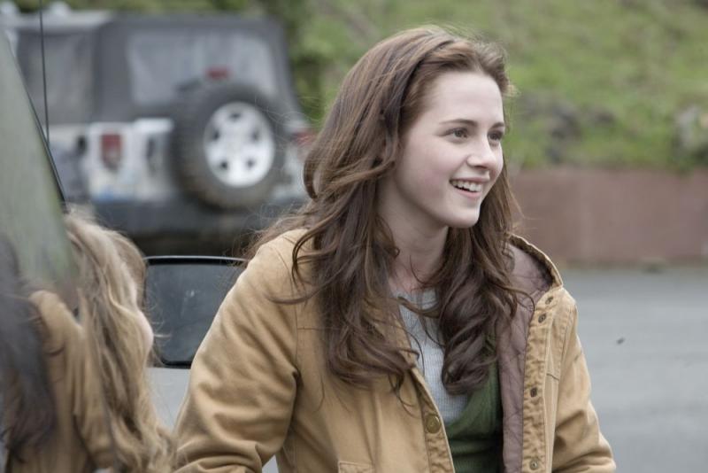 Kristen Stewart in una scena dell'atteso Twilight