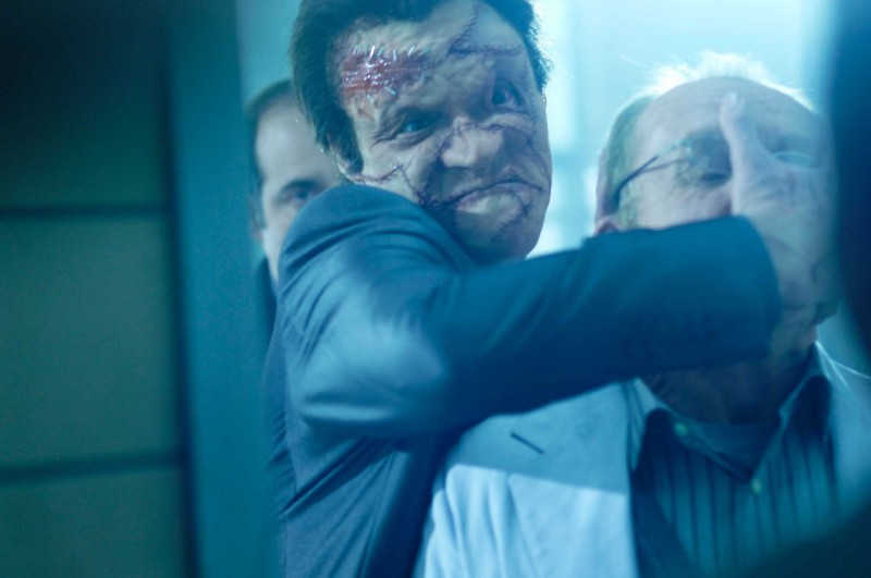 Dominic West in una scena del film Punisher: War Zone